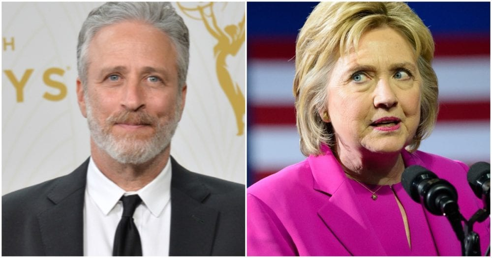 Dems Have HILARIOUS New Excuse for Why Hillary Lost, & It's ALL Because Of Jon Stewart