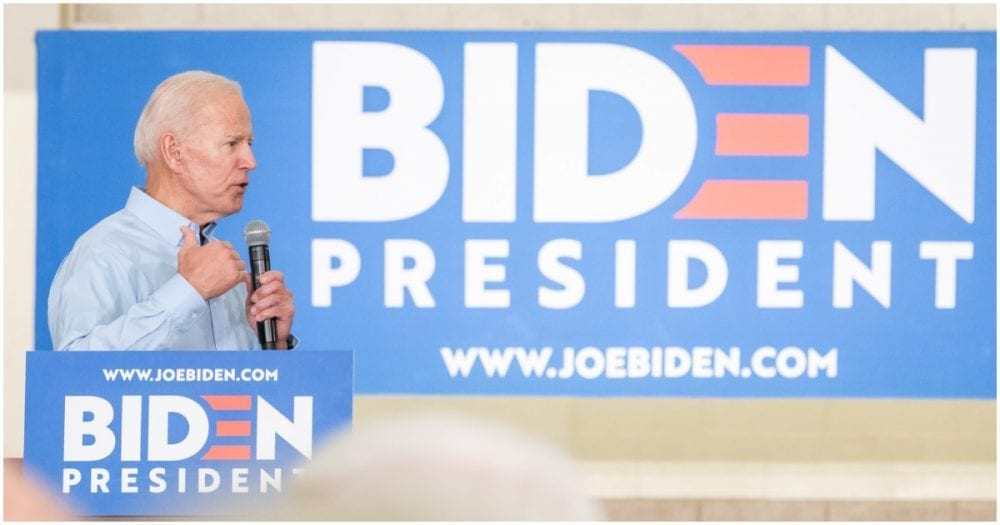 [ICYMI] Biden's Wife Removes His Hands From Her Waist In Front of Entire Rally Crowd (Watch)