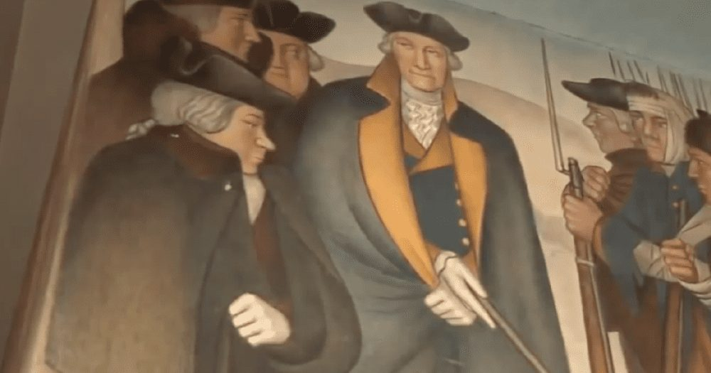 """High School Might Remove George Washington Mural for """"Traumatizing"""" Students"""