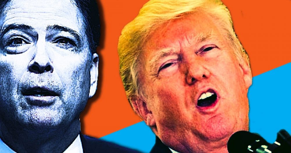 """Top Lawyer in FBI Was Worried Comey Was Trying to """"Blackmail"""" President Trump"""
