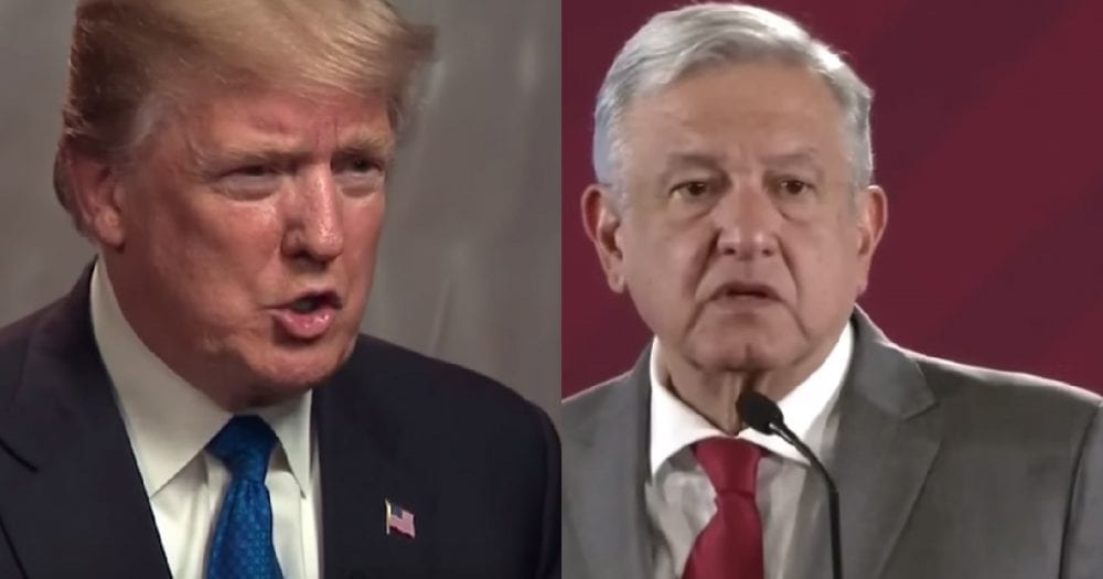 Mexico's President Responds to Trump, Says Migrants Have a Right to Move to the U.S.