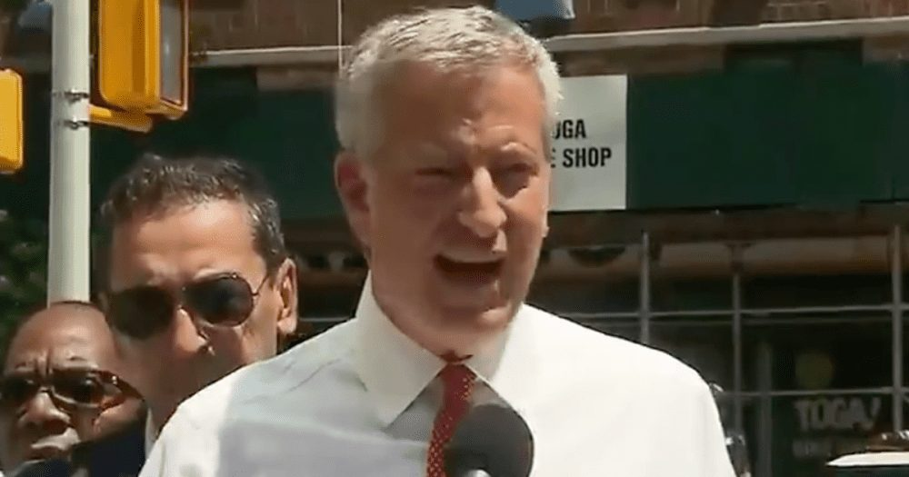 de Blasio Blasted for Campaigning for President During NY Power Outages