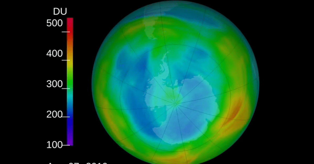NASA Reports 2019 Ozone Hole is the Smallest on Record Since Its Discovery