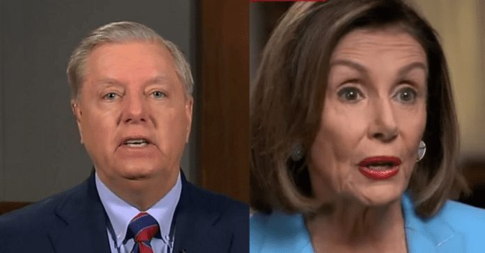 "Lindsey Graham Shuts Down Pelosi: ""GOP Senators Will Never Impeach Over Phone Call"""