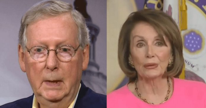 Mitch McConnell Ends Nancy Pelosi's Reign of Terror: 'Impeachment stops with me as majority leader'