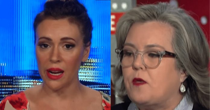 Alyssa Milano and Rosie O'Donnell Join Trump 'Impeachment Task Force' To Save USA From POTUS