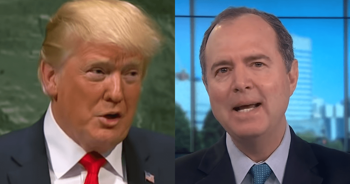 "Trump Campaign Shares Photoshopped Joke Meme of Adam Schiff as ""Robin"""