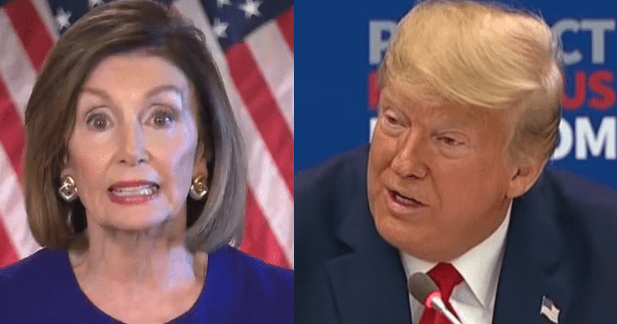 """BREAKING: Pelosi Accuses Trump of """"Political Interference,"""" Calls for New Investigation"""