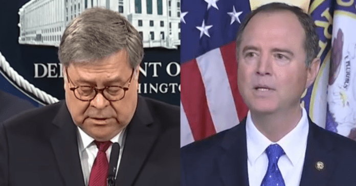 Bill Barr Indicts 8 For Illegally Funneling Foreign Money To Adam Schiff And Multiple Dem Senators