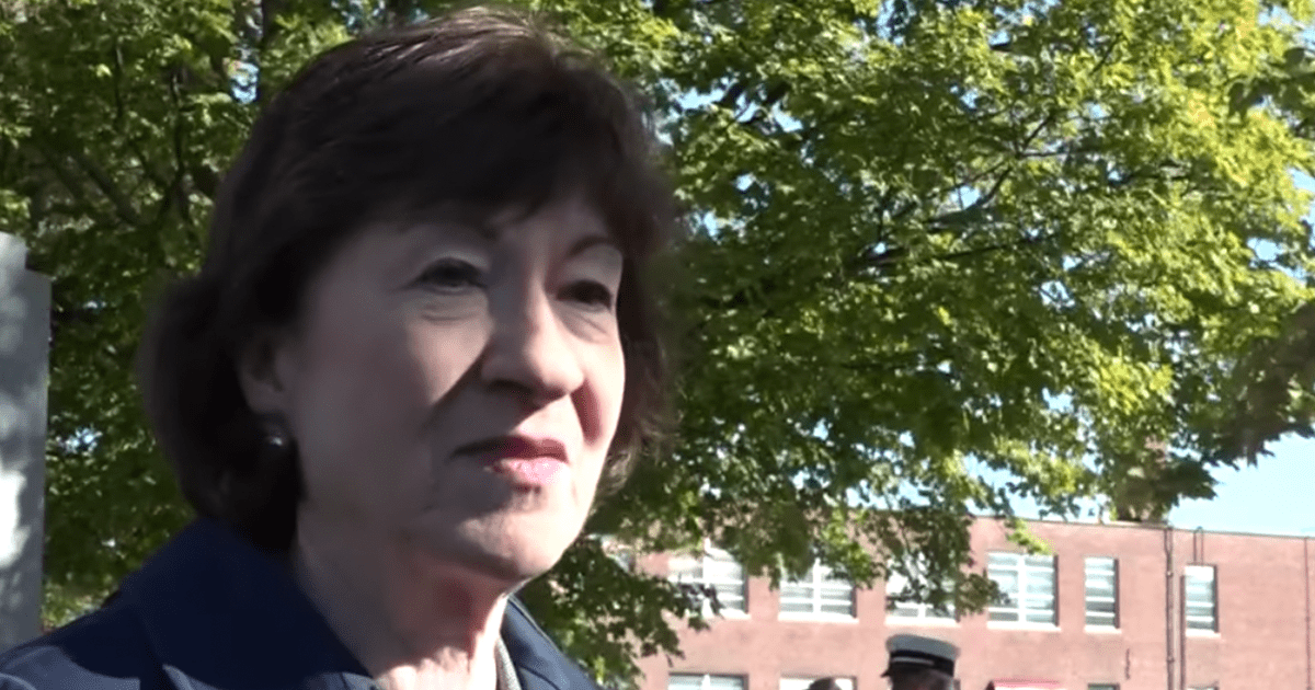 REPORT: Susan Collins Is Suddenly Opposing Some of Trump's Court Picks