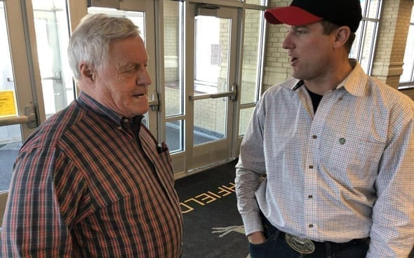 democrat rep collin peterson confirmed to the globe on saturday that he s voting against trump s impeachment