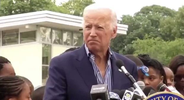 joe biden launched into a bizarre incoherent rant during a campaign speech