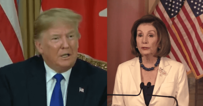 """Trump Checkmates Pelosi After She Orders Articles of Impeachment: """"I'll Get Fair Trail In Senate"""""""