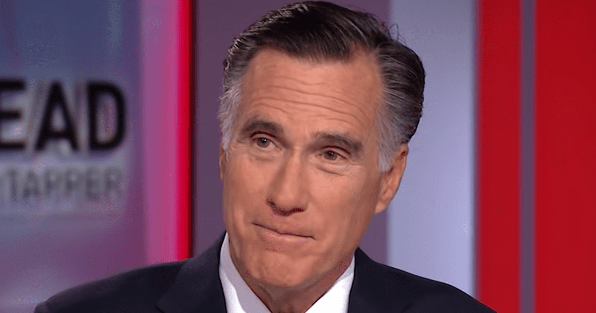 """Drucker: Romney """"Stoking Suspicions"""" He's Eying a 2024 Run for President"""