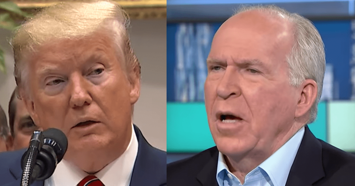 "Brennan Declares Trump a ""National Disgrace"" Over His Exchange With NBC Reporter"