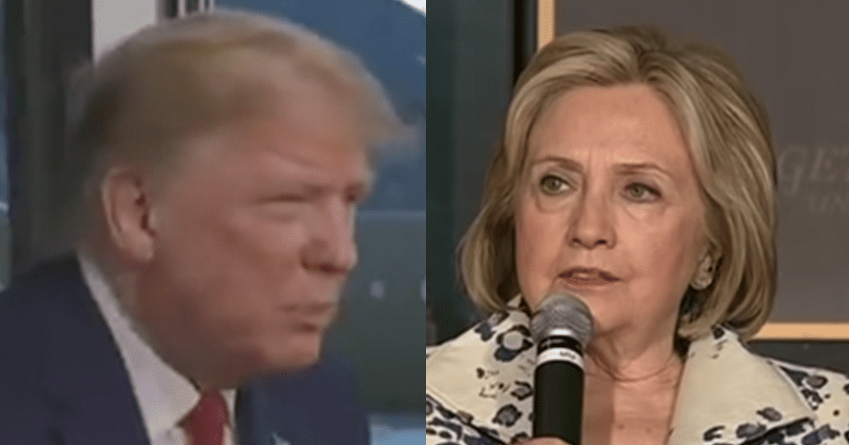 """VIDEO: Trump Responds to Hillary Saying Nobody Likes Bernie, Says """"Nobody Like HER! That's Why She Lost"""""""
