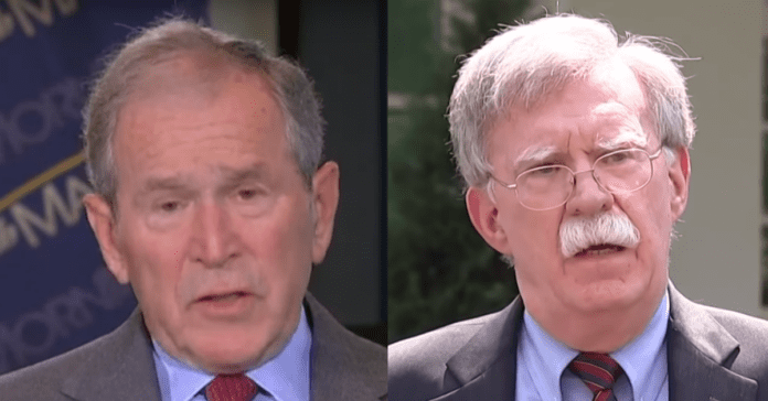 """George W. Bush Called John Bolton 'Not Credible' In 2008: """"I Don't Consider Bolton Credible"""""""