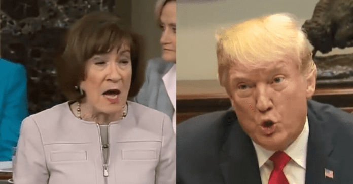 Susan Collins Stabs Trump in Back On Impeachment, Sets Up Showdown With Mitch McConnell Over Witnesses