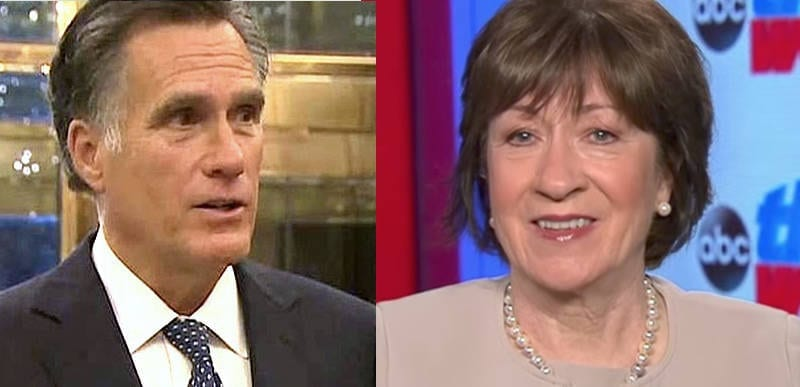 BREAKING: Romney and Collins to oppose Biden cabinet appointee for OMB