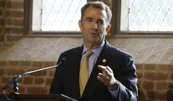 virginia s democratic governor ralph northam has been leading the anti second amendment push in the state