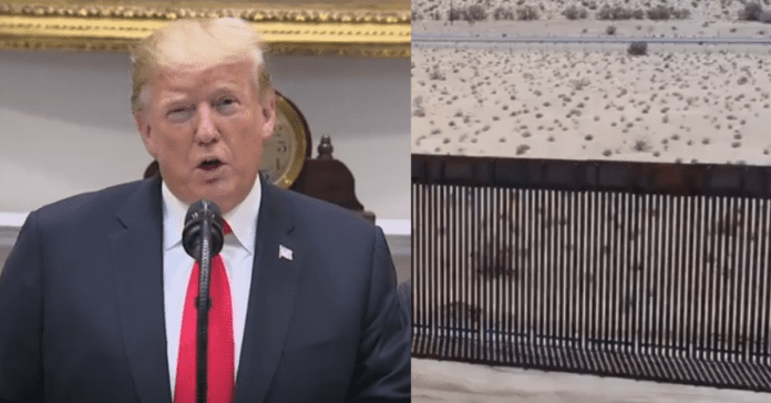 Three Illegal Immigrants Rescued After Getting Stuck Atop Trump's New Border Wall