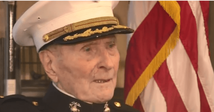 """104-Year Old Marine Corps Veteran Asking For Valentine's Day Cards: """"I'll save every one of them"""""""