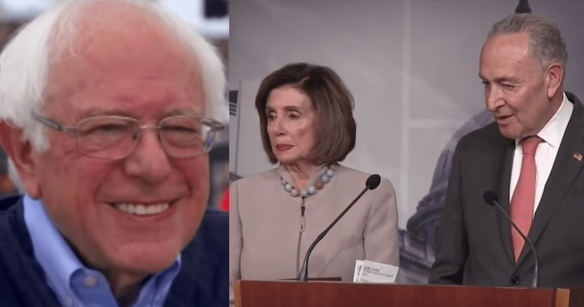 Pelosi and Schumer Indicate They'd Be Ok With Bernie as Dem Nominee