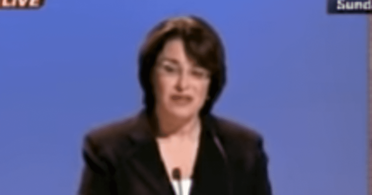 WATCH: 2006 Video Shows Klobuchar Calling for Border Fence, Stopping Illegal Immigration