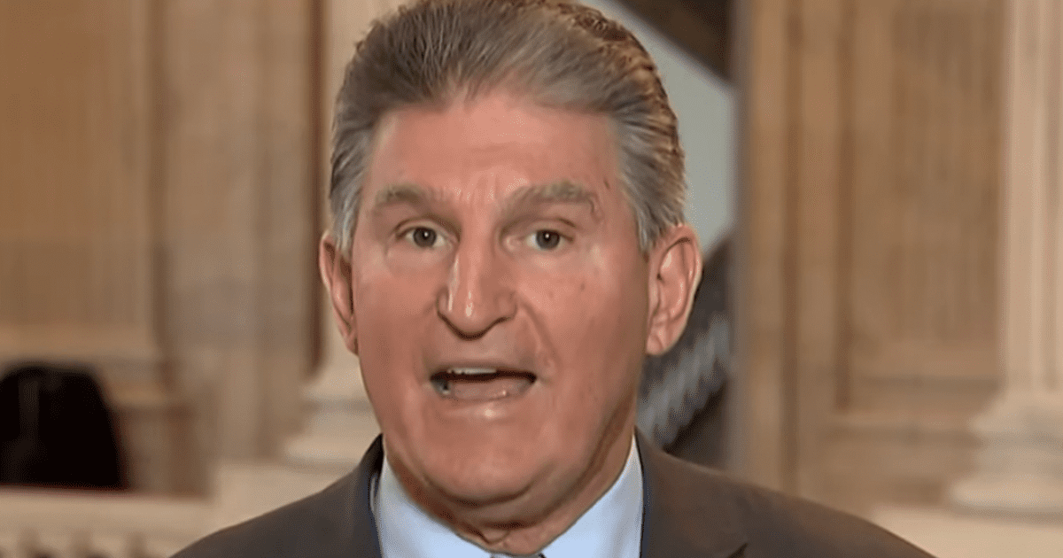 "WATCH: Manchin Scolds Trump, Says He Should ""Act like a Responsible Adult"""