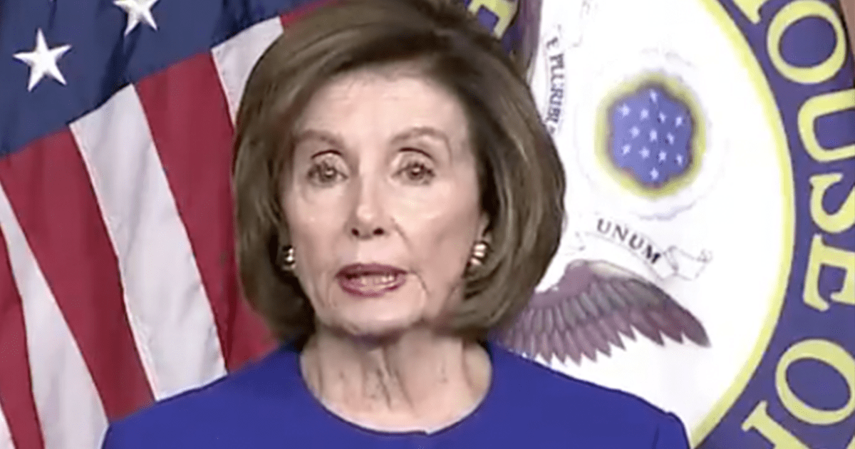 "WATCH: Pelosi Accuses Trump of ""An Assault on the Rule of Law"""