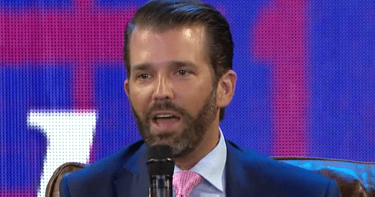 "Don Jr. ""Great week. Trump beats impeachment. Dems in disarray. The Lincoln Project burnt to the ground"""
