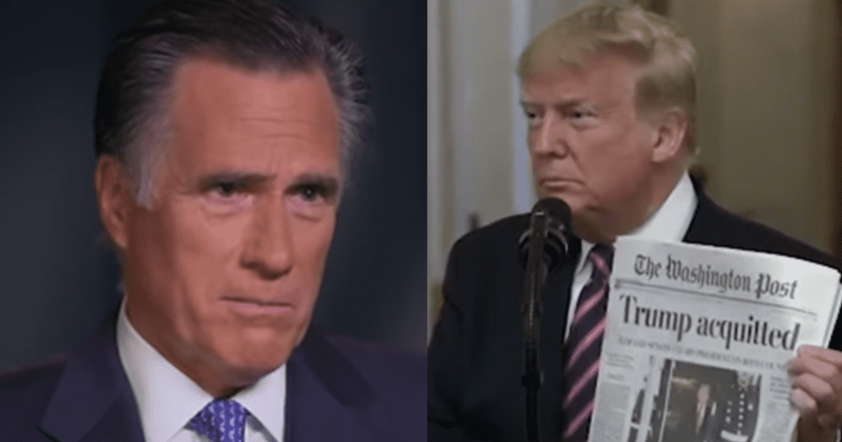 Romney Facing Calls to Be Removed from the Republican Party