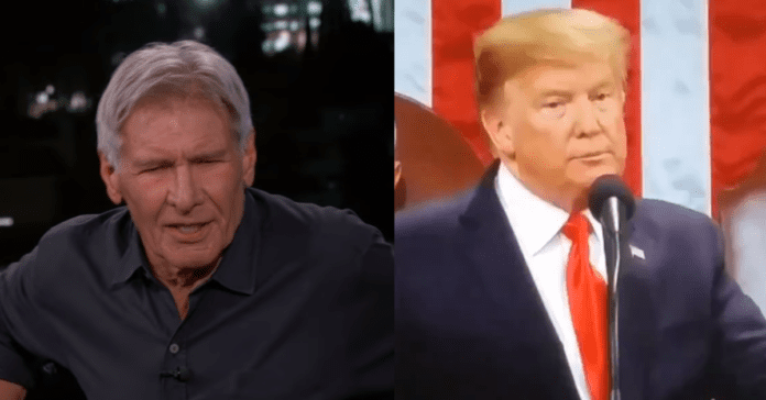 Harrison Ford Curses Out President Trump On National TV: 'Son of a B*tch'