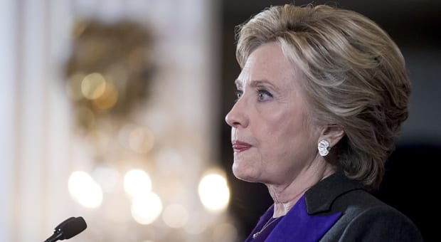 clinton set off speculation last year that she is preparing to take on trump for a second time in 2020
