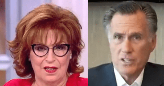 """Joy Behar Says Republicans Are """"Trash,"""" Calls Mitt Romney A """"Patriot"""" In Disgraceful Display On The View"""