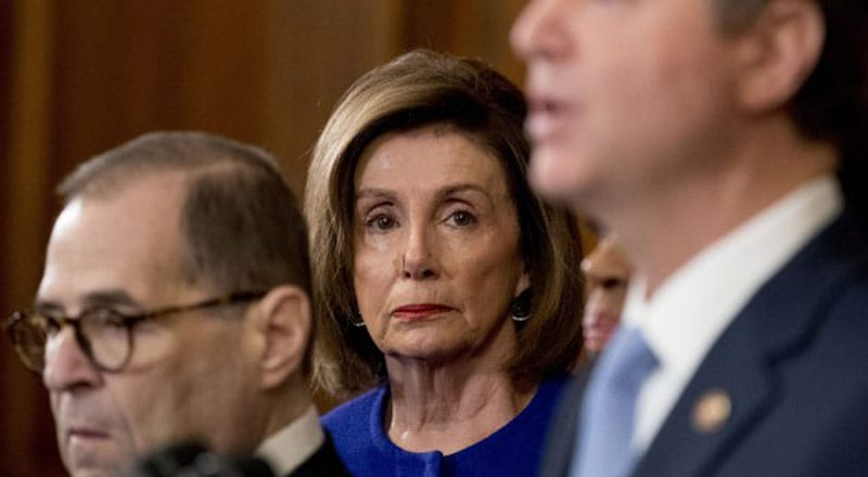 Petition to 'Impeach Nancy Pelosi for Treason' Goes Viral, Hits 330,000 Signatures