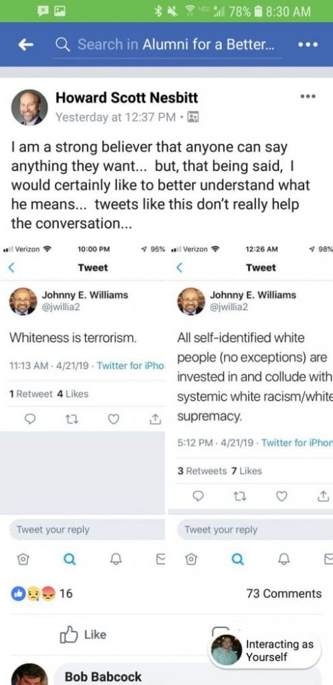 """Professor Who Tweeted """"Whiteness is Terrorism"""" Refuses to Apologize, Doubles Down in New Op-Ed"""