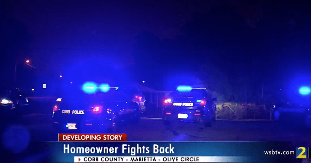 VIDEO: 17-year-old with gun shoots and kills armed home invader in Georgia