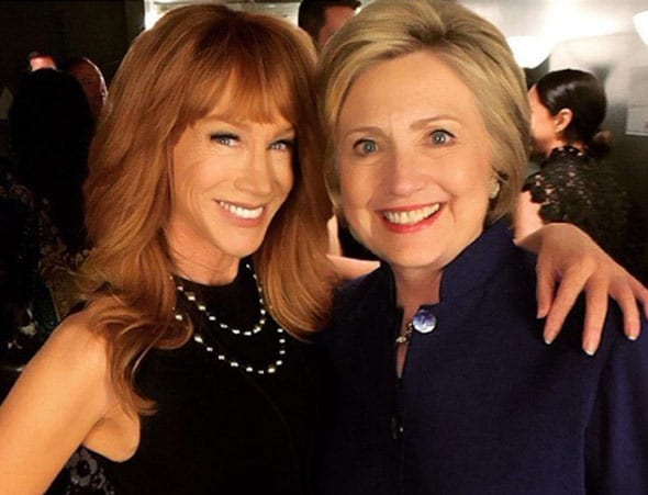 kathy griffin pictured in happier times
