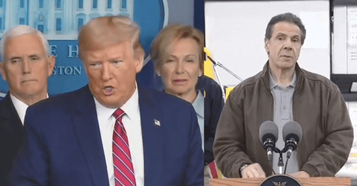 """Trump Finds Skeleton In Cuomo's Closet, Exposes It On Live TV: """"He Rejected Buying 16k Ventilators in 2015, Shouldn't Blame Us"""""""