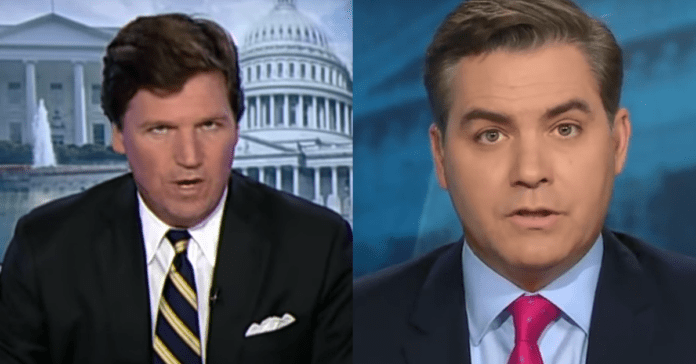 "Tucker Carlson Calls Jim Acosta A ""Poisonous Moron"" Over New Trump Attack, Exposes Jim As Total Hypocrite"