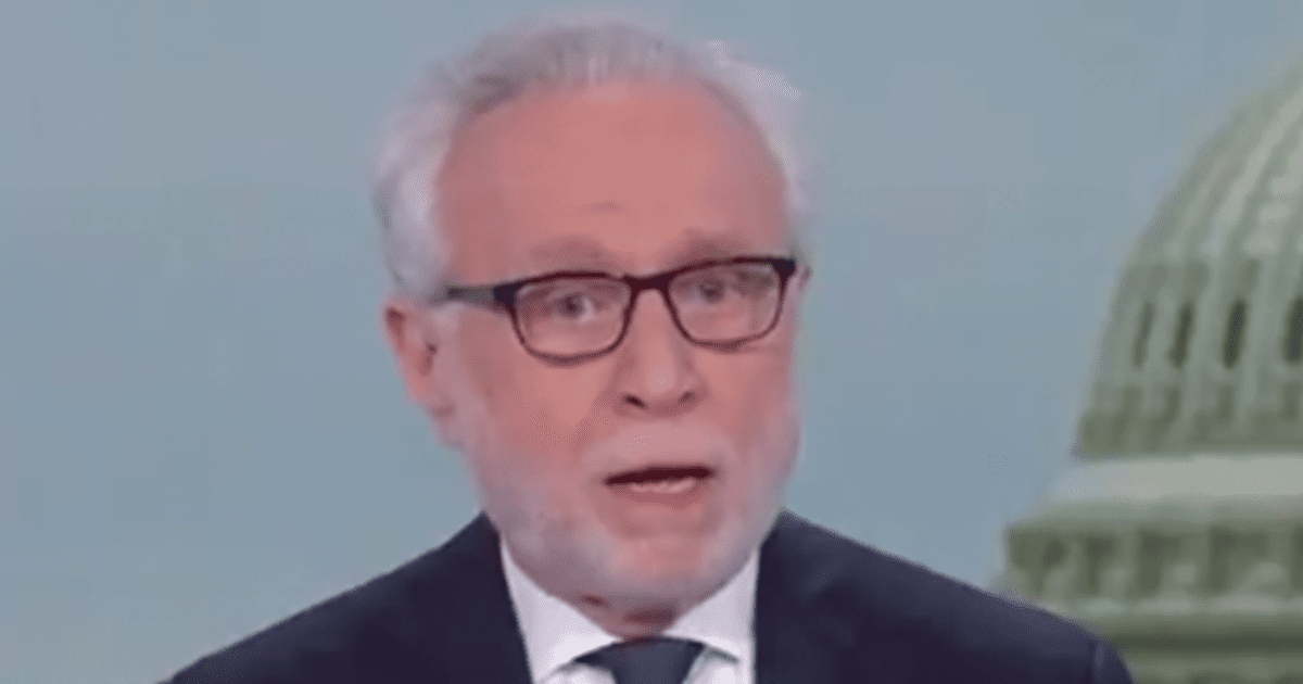 """WATCH: Wolf Blitzer Says Trump Was """"Chicken Today"""" and """"Afraid to Answer Questions"""""""