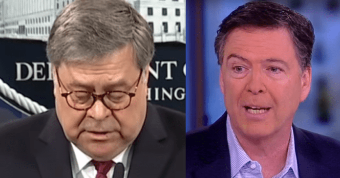 "Bill Barr Puts Comey On Notice, Accuses FBI Of ""Sabotaging Presidency, Greatest Travesty In US History"""