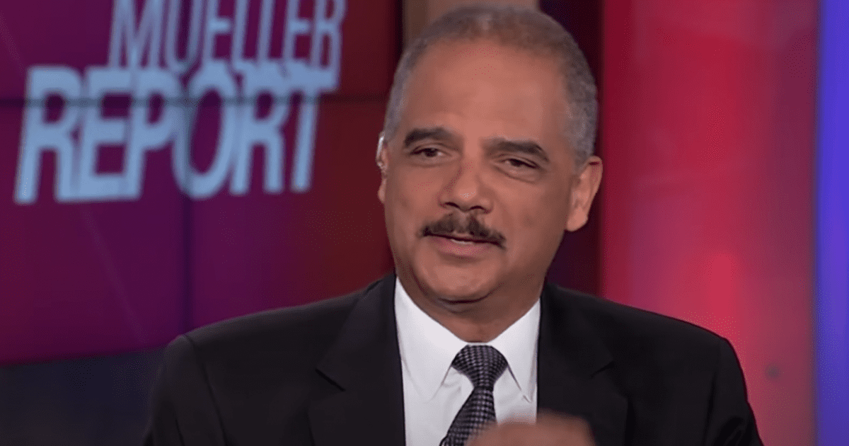 """Eric Holder: Coronavirus """"an opportunity"""" to Permanently Change How Americans Vote"""