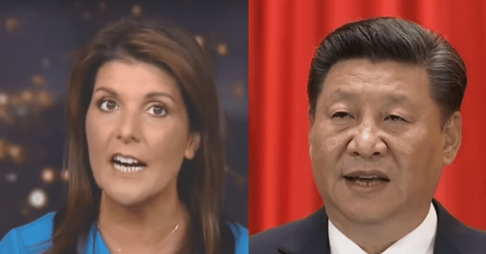 Nikki Haley Makes Her Move, Launches 'Stop Communist China' Project To Petition Congress To Do Their Job