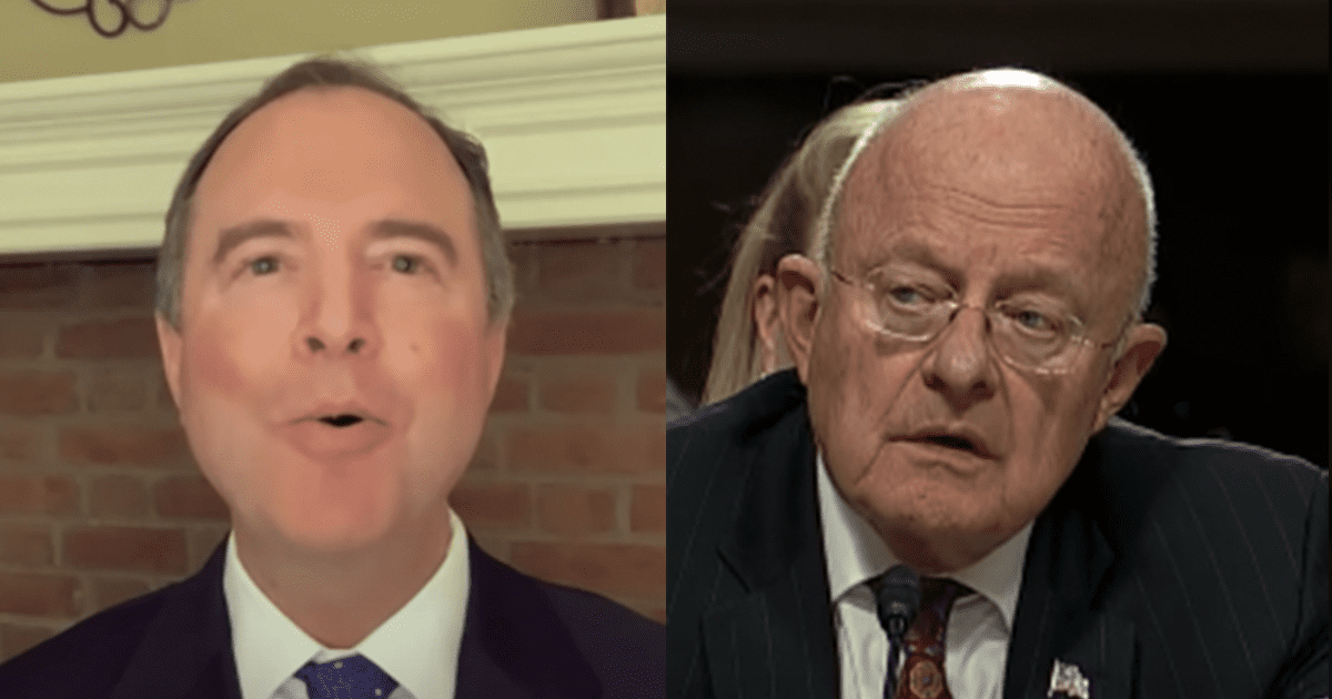 Released Transcript Shows Clapper Admitted Seeing No Evidence of Russia Collusion