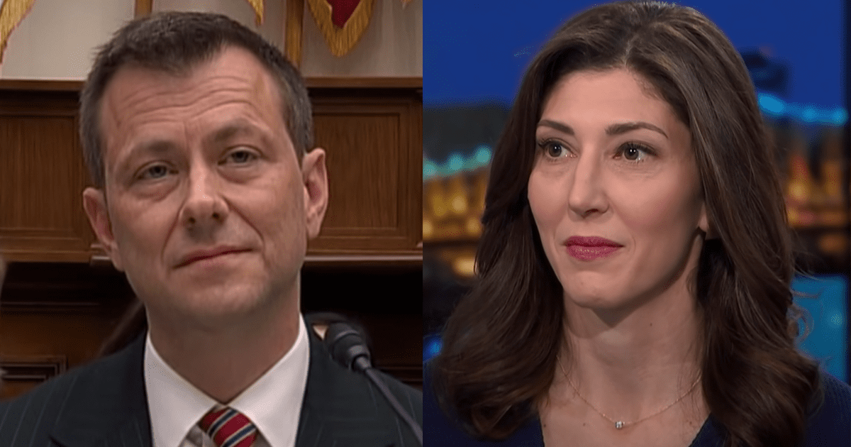 REPORT: New Texts Show Peter Strzok, Lisa Page Altered Flynn Interview Notes