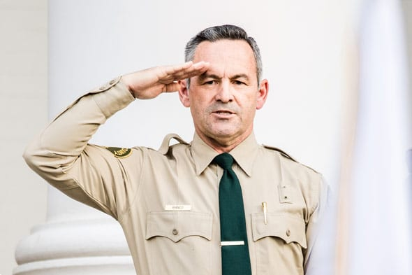 sheriff chad bianco says he will not set up any type of police state in his county