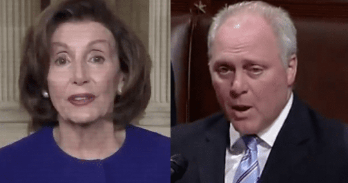 """Rep. Scalise """"House Dems just voted to give your tax dollars to illegal immigrants"""""""