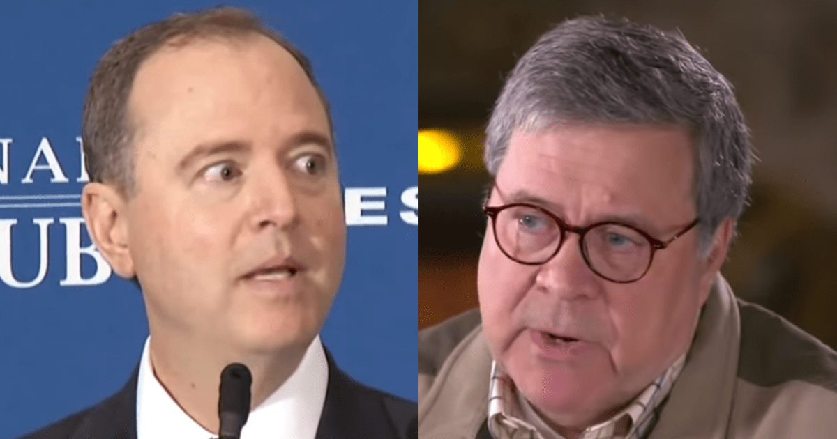 Schiff: DOJ Decision Does Not Exonerate Flynn But Incriminates Barr